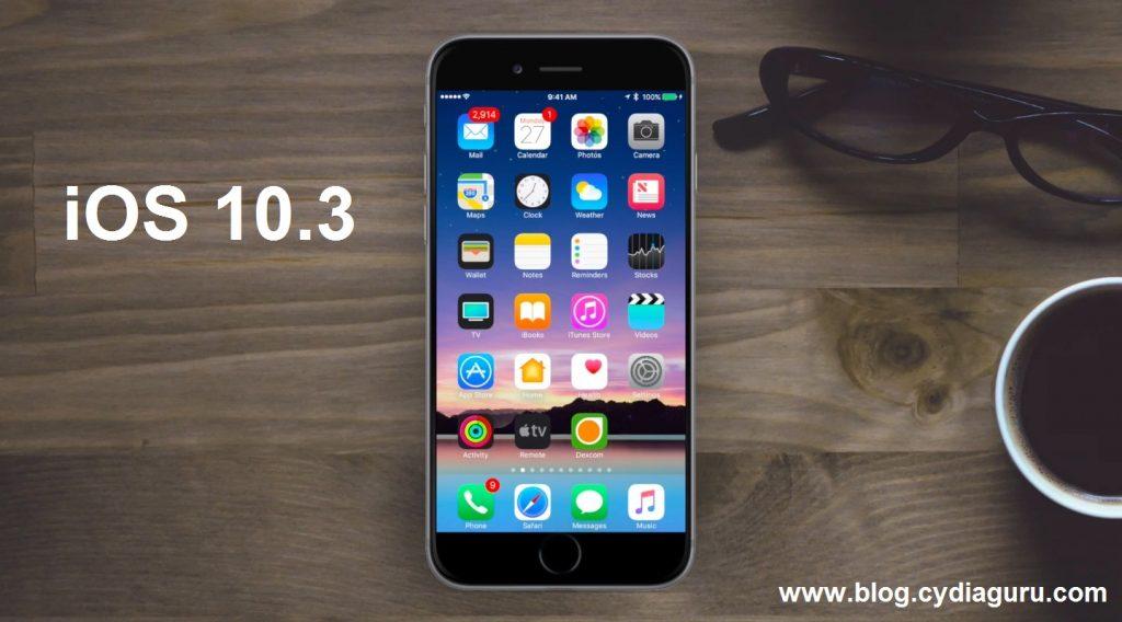 iOS 10.3 Cydia Install