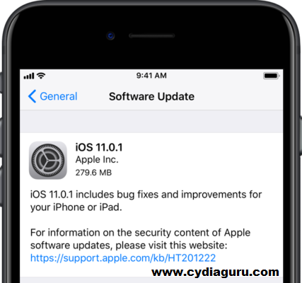iOS 11.0.1 Download