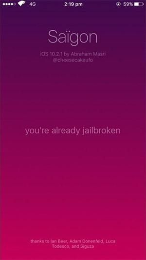 iOS 10 2 1 Jailbreak Saïgon Released - Cydia Guru! - Cydia installer